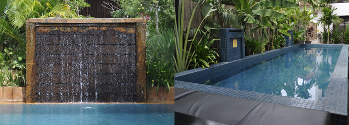 2 of our constructed swimming pools